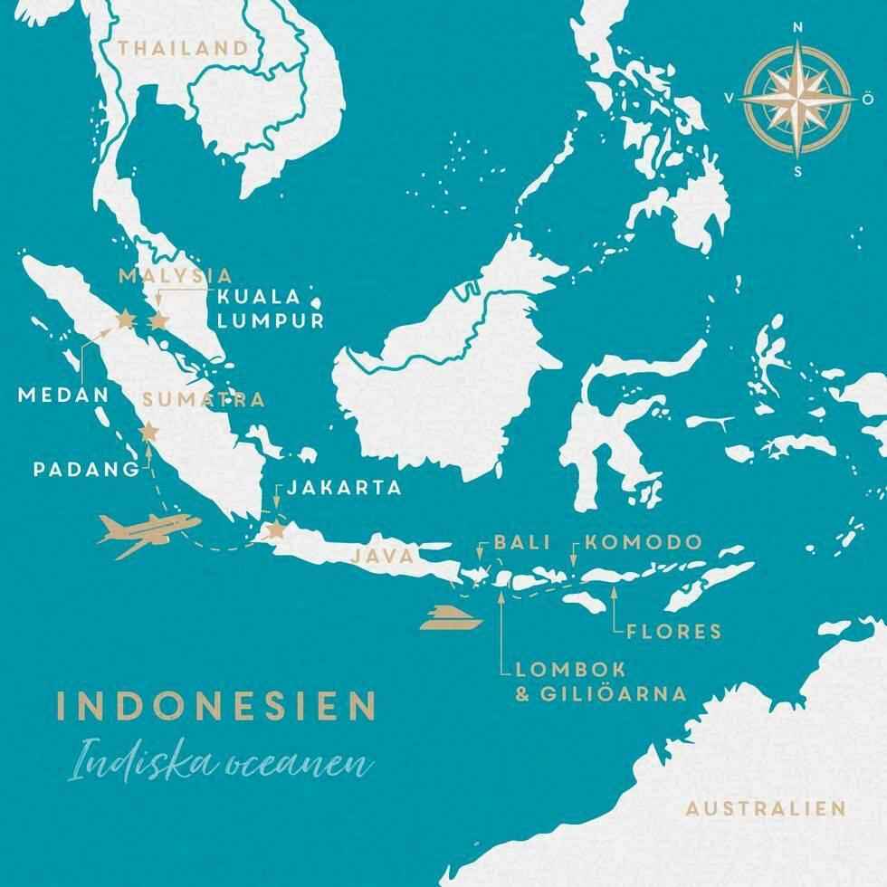 Öluffa i Indonesien – från Sumatra till Flores