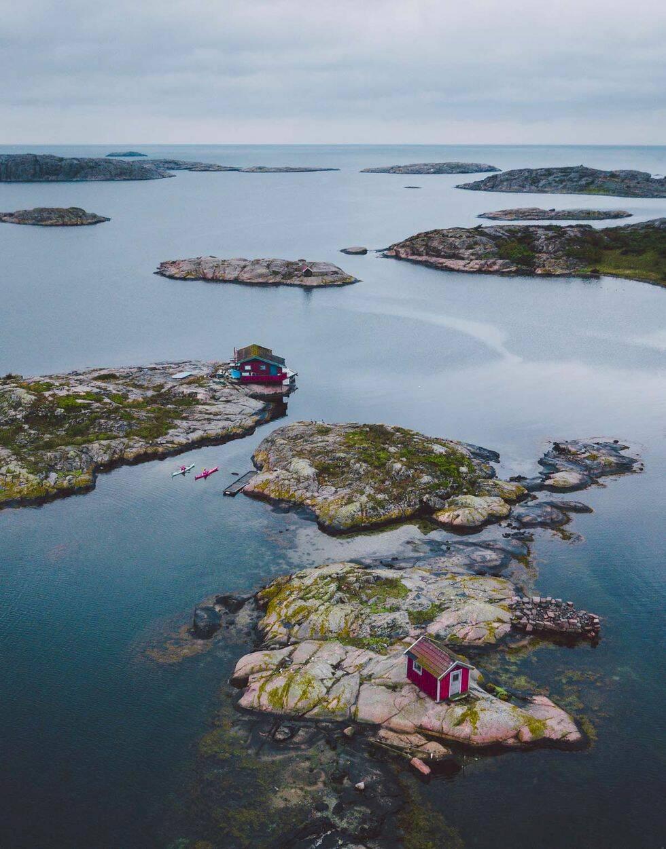 Sveriges mest isolerade ö-boenden