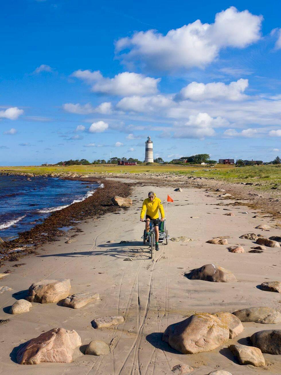 På cykel längs med Kattegattleden – genom Skåne och Halland