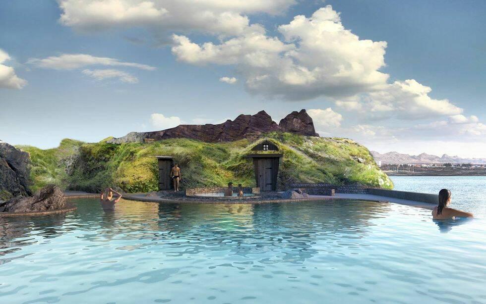 Islands senaste spabad gör dig ett med havet