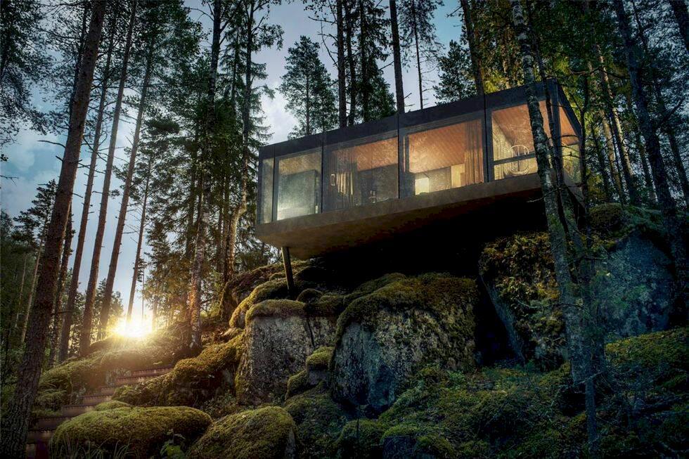 7 nya designhotell i Finland – mitt i naturen