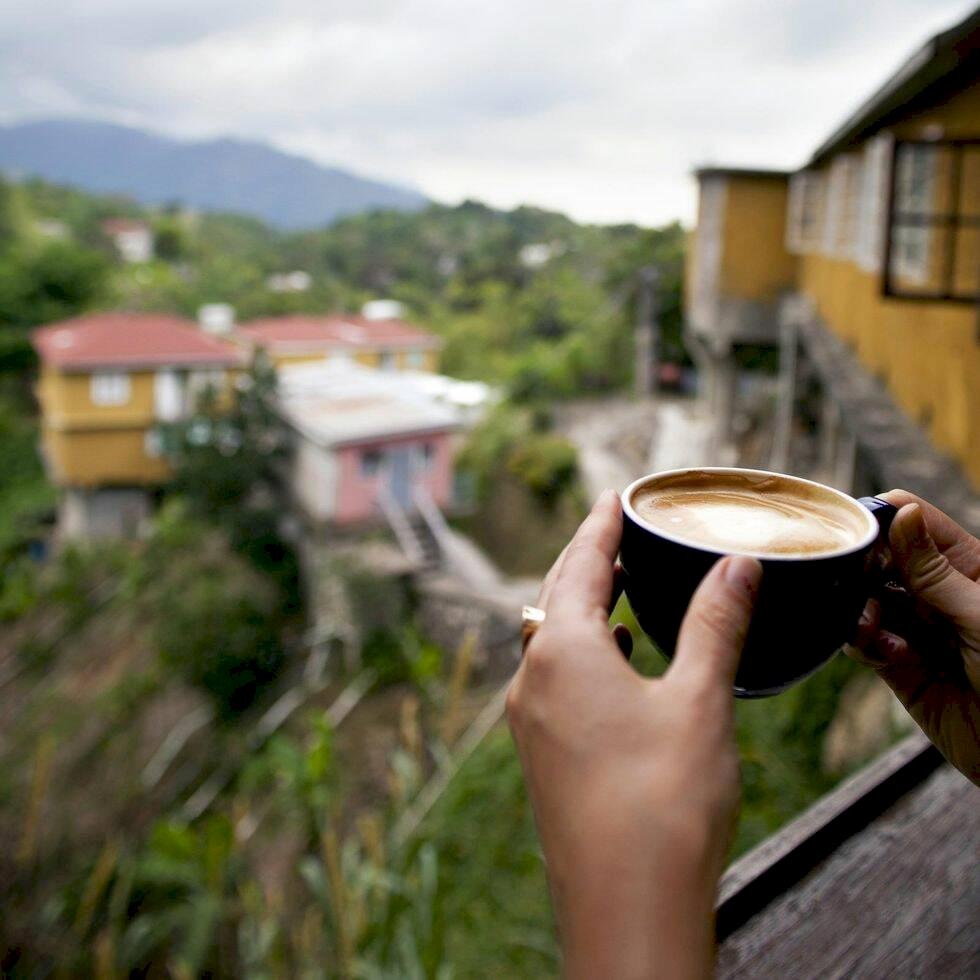 Kaffe och musik i Jamaicas blå berg