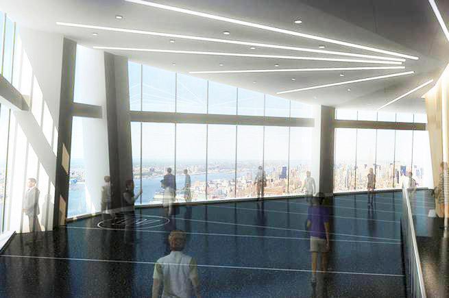 Utsikt på hög nivå – New Yorks nya skyskrapa öppnar observatorium i maj