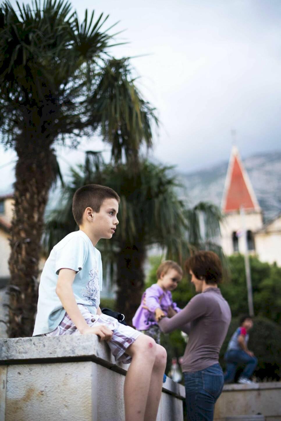 Kroatien: Soliga dagar i Makarska