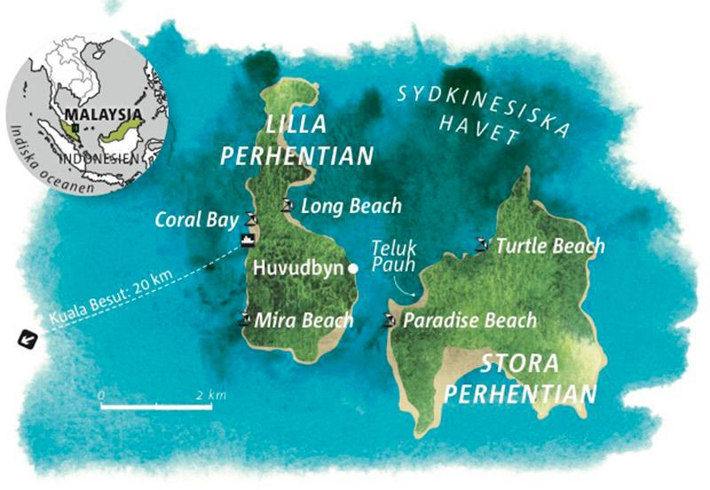 Guide: Perhentian, Malaysia