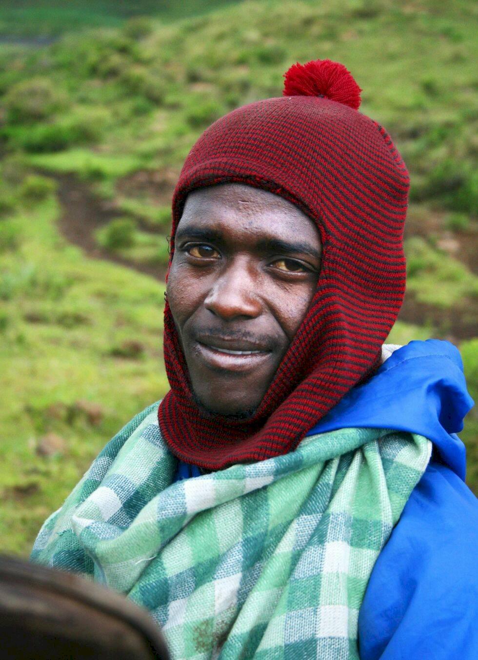 Lesotho – ridtur ovan molnen