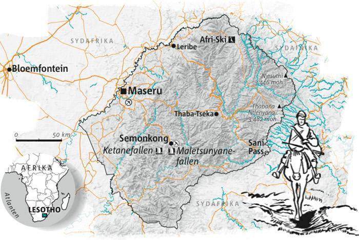Guide: Lesotho från hästryggen