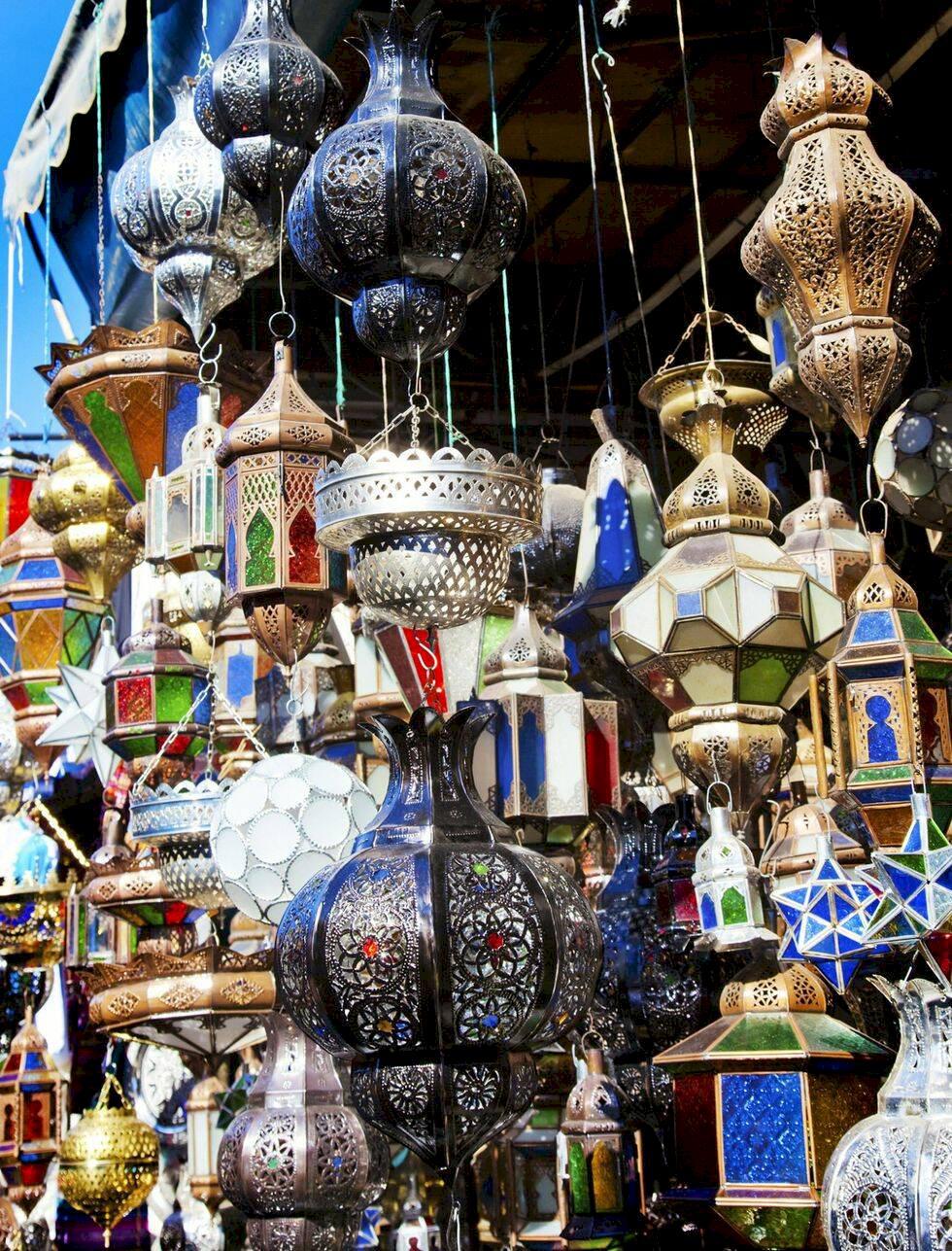 Bästa shoppingen i färgsprakande Marrakech