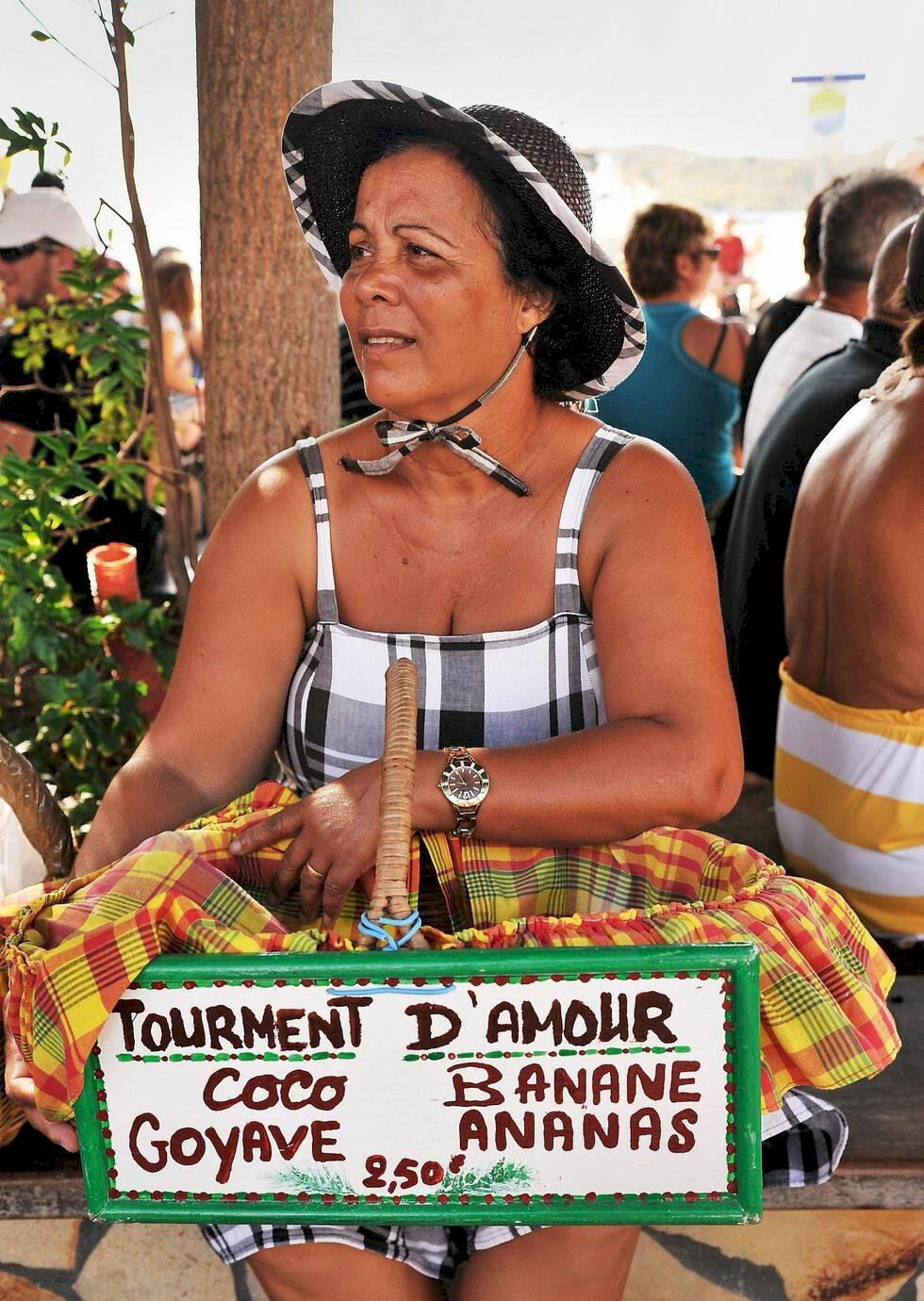 Karibien: Lata dagar på miniatyröarna Les Saintes
