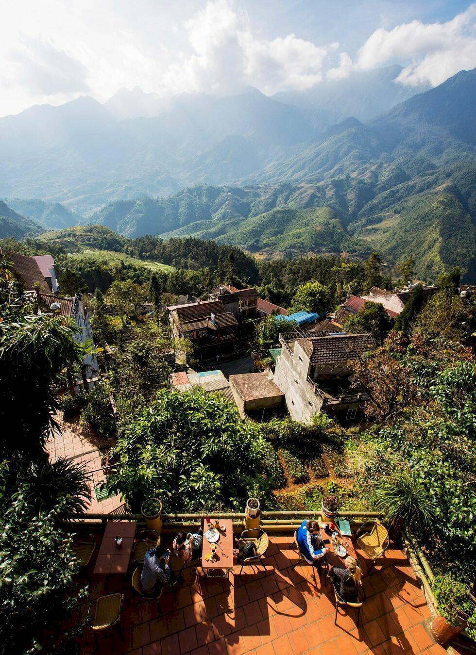 Norra Vietnam: Vandring i magiska Sapa