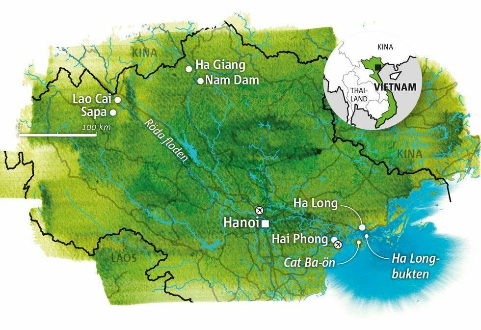 Guide till Norra Vietnam & Sapa