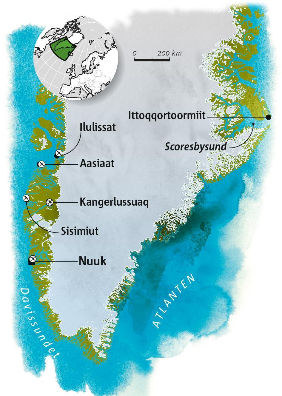 Guide till Grönland
