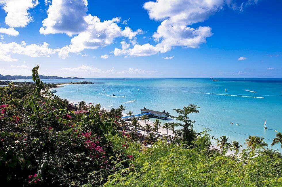 10 härligaste öarna i Karibien