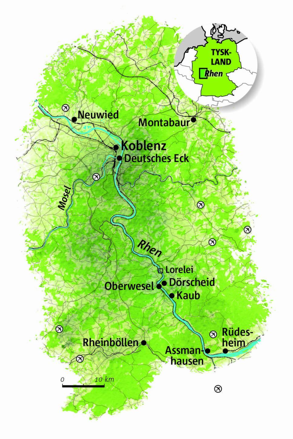 Guide: Rhendalen