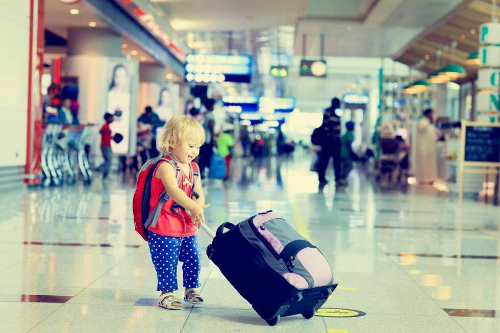 Ultimata checklistan för att resa med barn