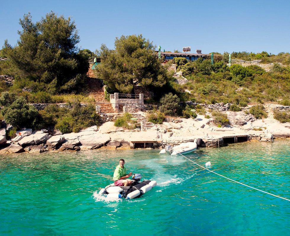 Redaktionens favoriter: Mysigaste sail in-restaurangen i Splits skärgård
