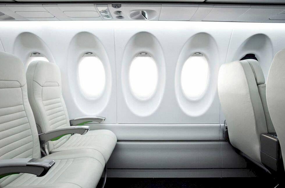 Här är flygplanet som är gjort för överviktiga