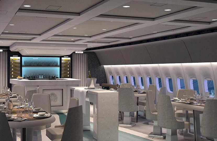 Är det här världens lyxigaste kommersiella flygplan?