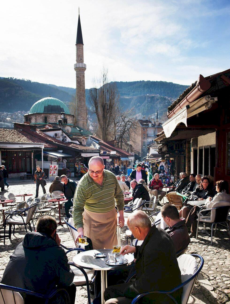 Sarajevo – kaffe, krig och kärlek