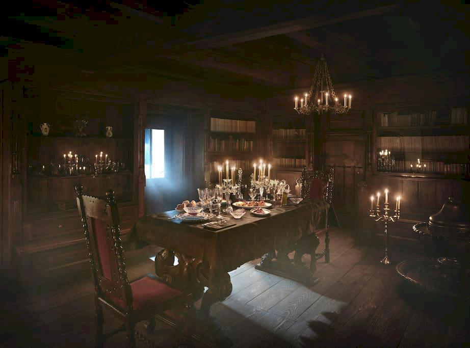 Nu har du chans att spendera en skräckfylld natt på Draculas slott