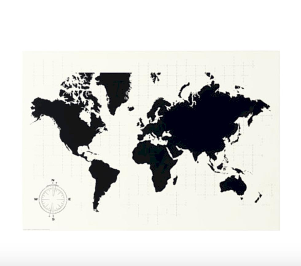 8 prylar för dig som älskar kartor