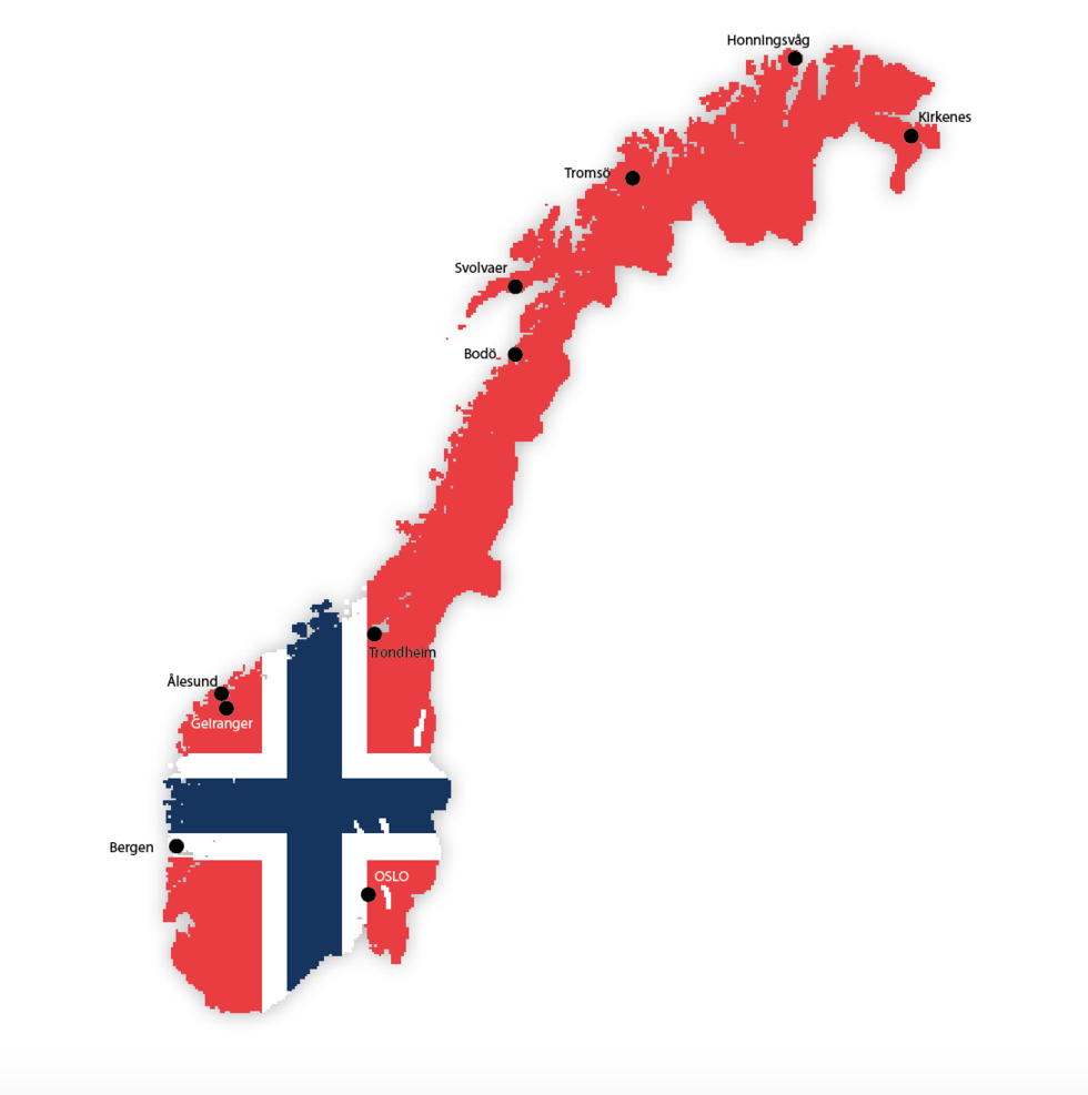 Guide till Hurtigruten