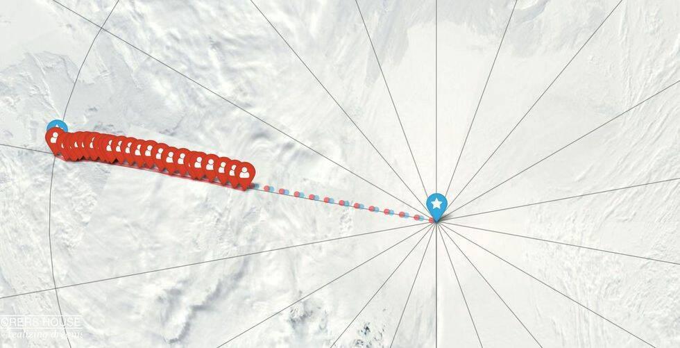Fram och tillbaka till Sydpolen – Johanna, 32, blir första svensken att klara bedriften på egen hand