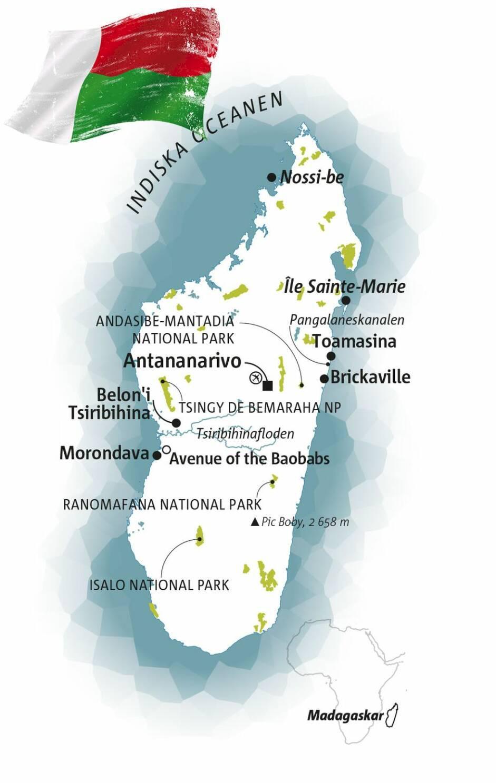 Guide: Madagaskar – den åttonde kontinenten