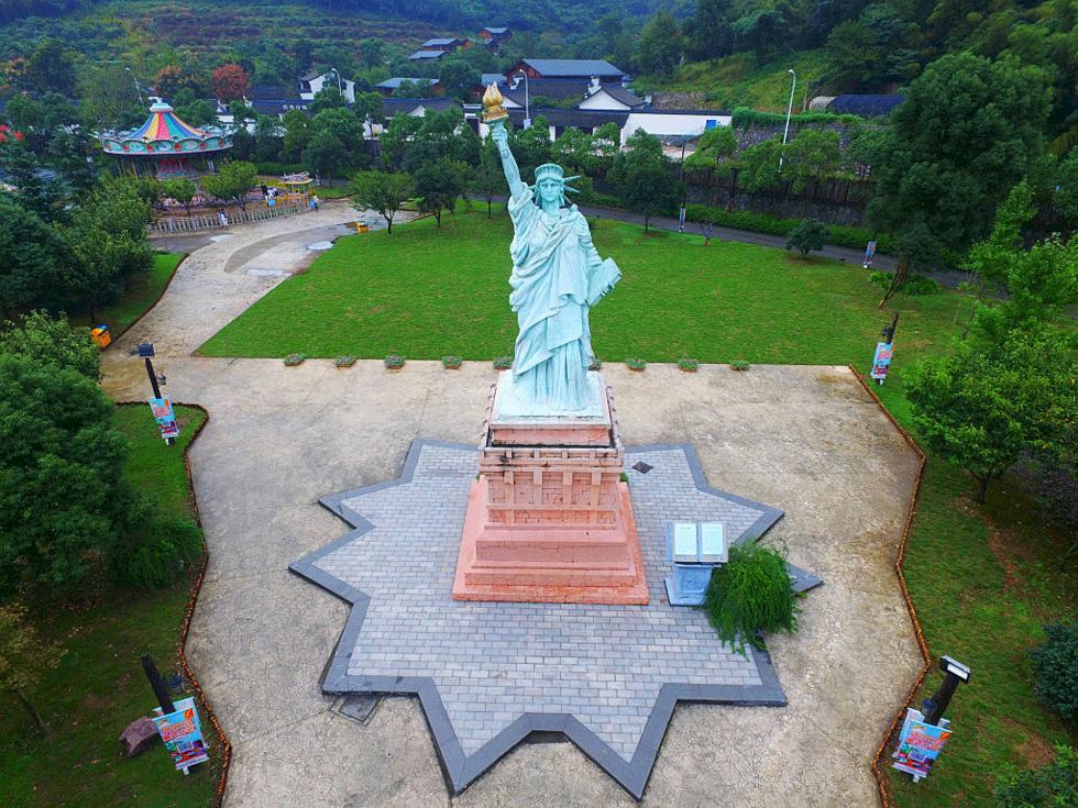 Se världens allra mest ikoniska landmärken – i Kina