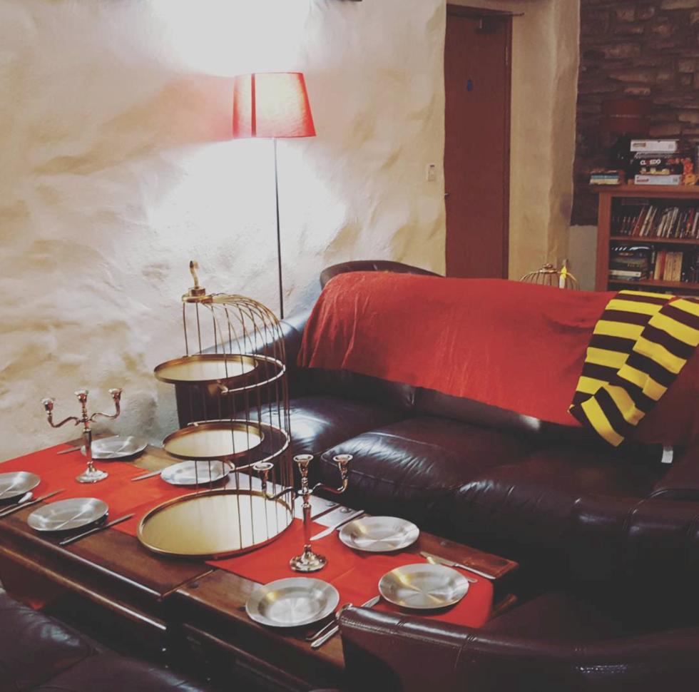 Här kan du dricka afternoon-tea med Harry Potter-tema