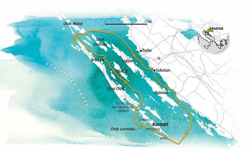 Guide: Segling i Kroatiens norra skärgård