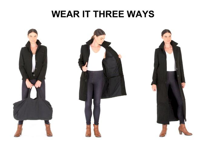 """Video: Med den här jackan kan du säga """"adjö"""" till extra bagageavgifter för alltid"""