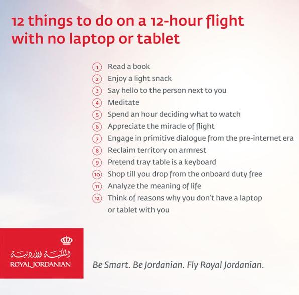 Se flygbolagens roliga svar på USA:s elektronikförbud på flyg