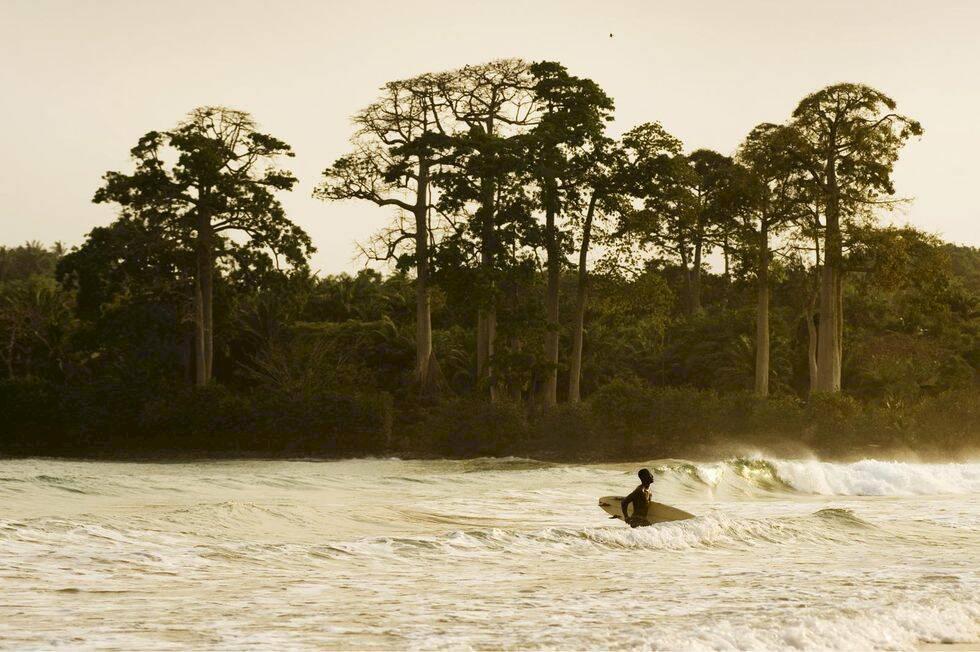Ghana - surf, dans och historia