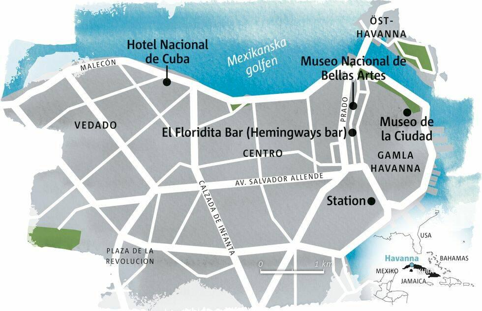 Guide till Havanna