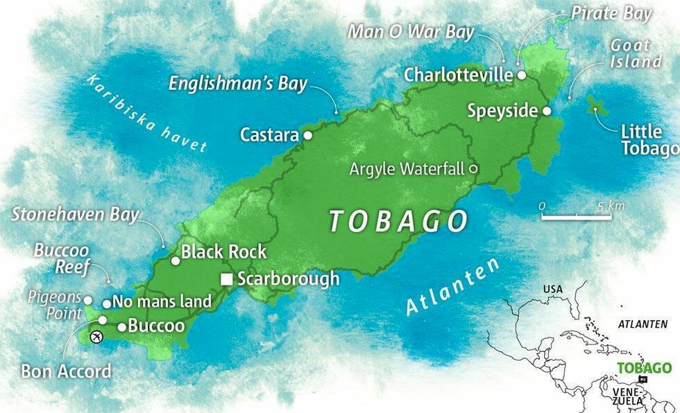 Tobago – Karibiens skönaste ö