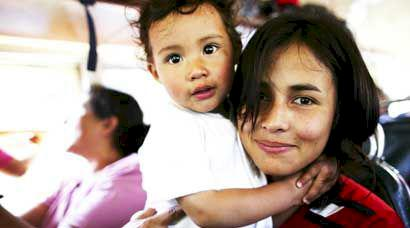 Skratt och sorg i Guatemala