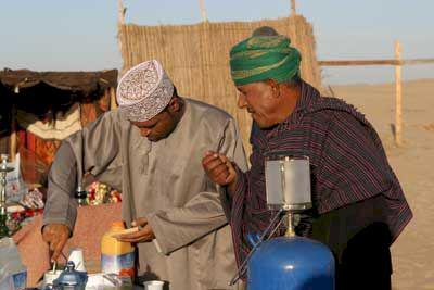 Oman - när charter är öken