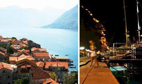 Fjordliv i Montenegro