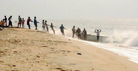 Surfing Liberia