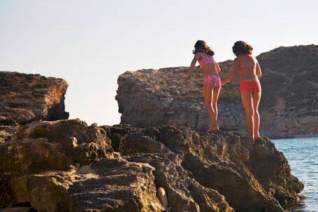 Malta - riddarborgar och kristallklara bad