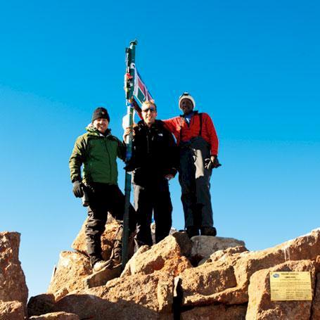 Kenya - Mot toppen av Mount Kenya
