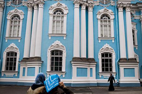 St Petersburg - i Dostojevskijs fotspår
