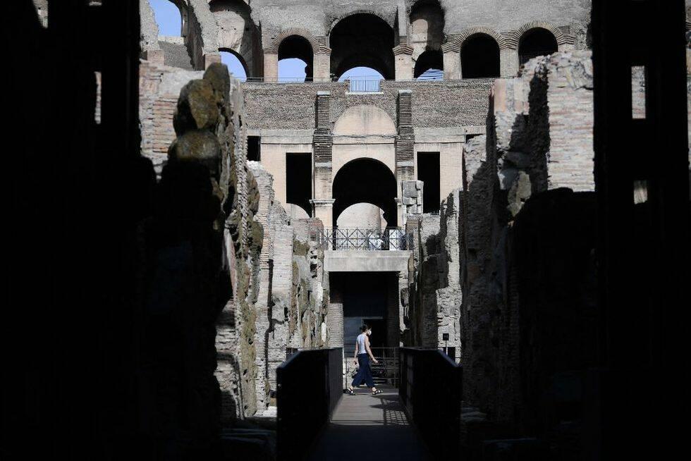Colosseums underjordiska tunnlar öppnas för turister
