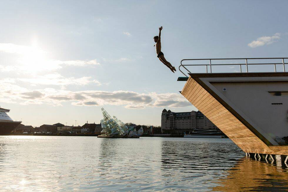 Flytande bastu i Norge – 7 heta nyheter