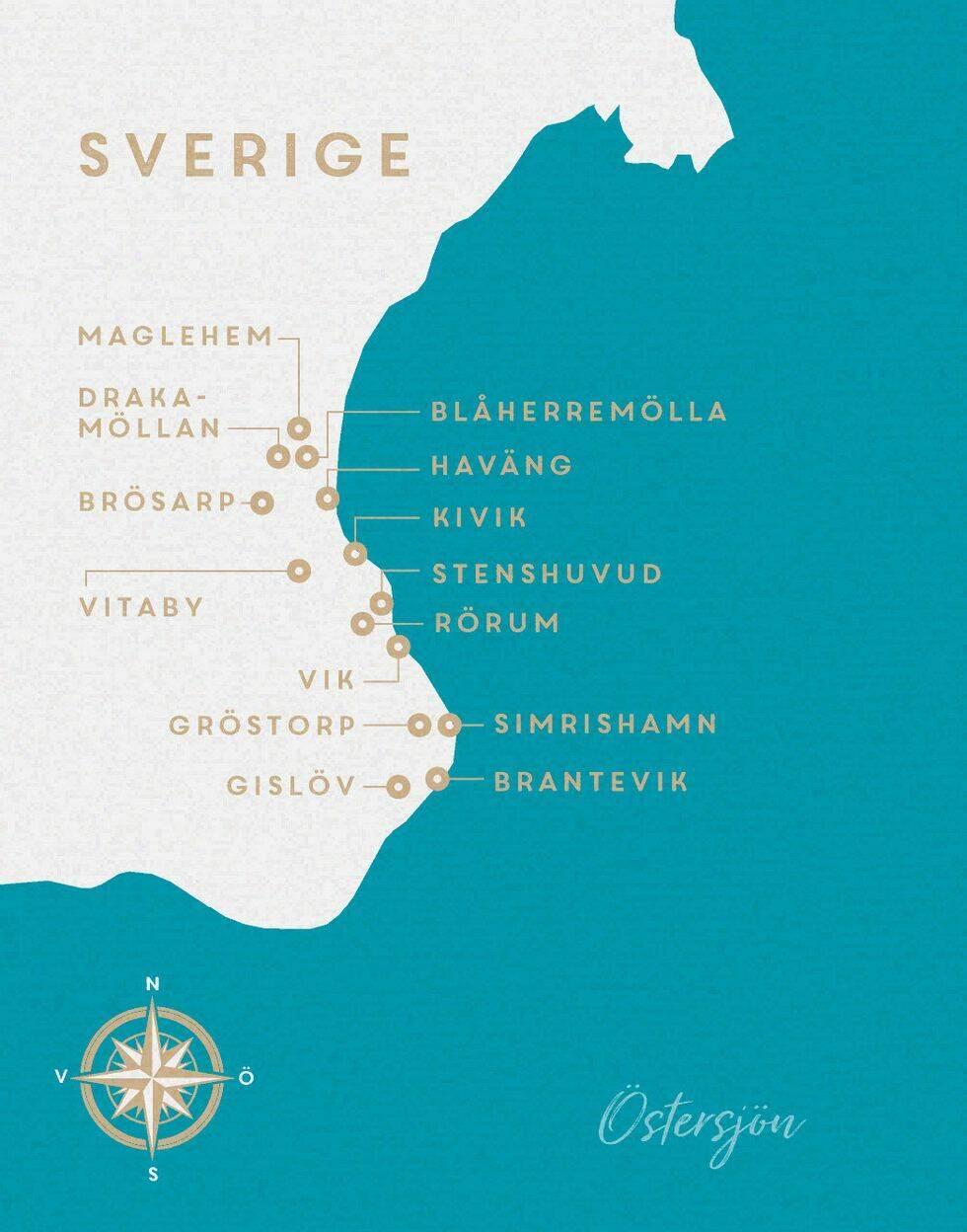 Guide till Österlen – restauranger, hotell & bästa stränderna