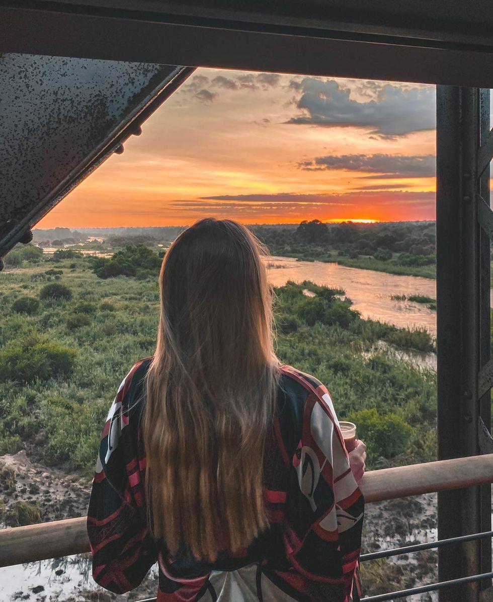 Nytt spektakulärt tåghotell i sydafrikansk nationalpark