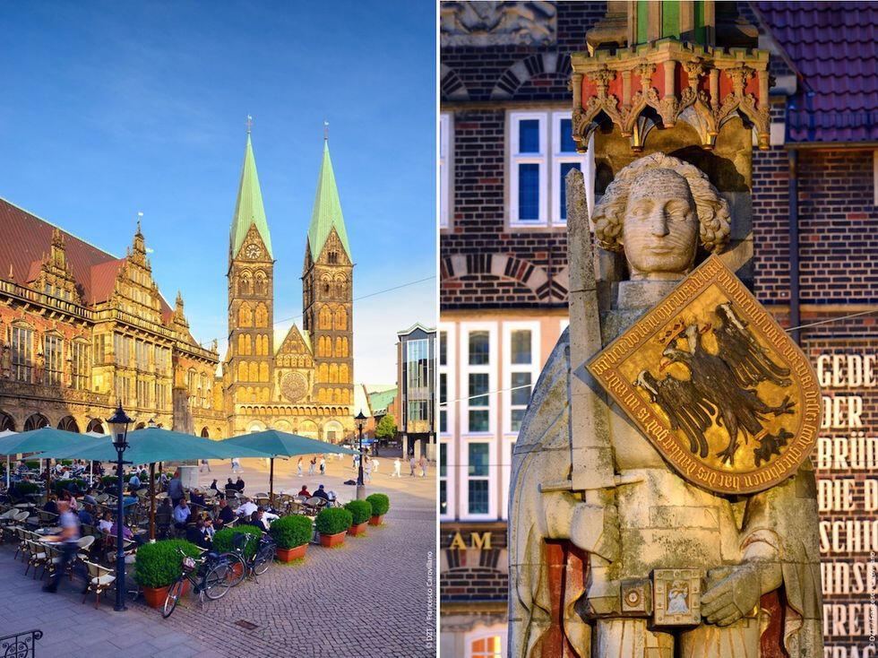 Ta tåget till Bremen – upplev natur, hippa kvarter och unika världsarv