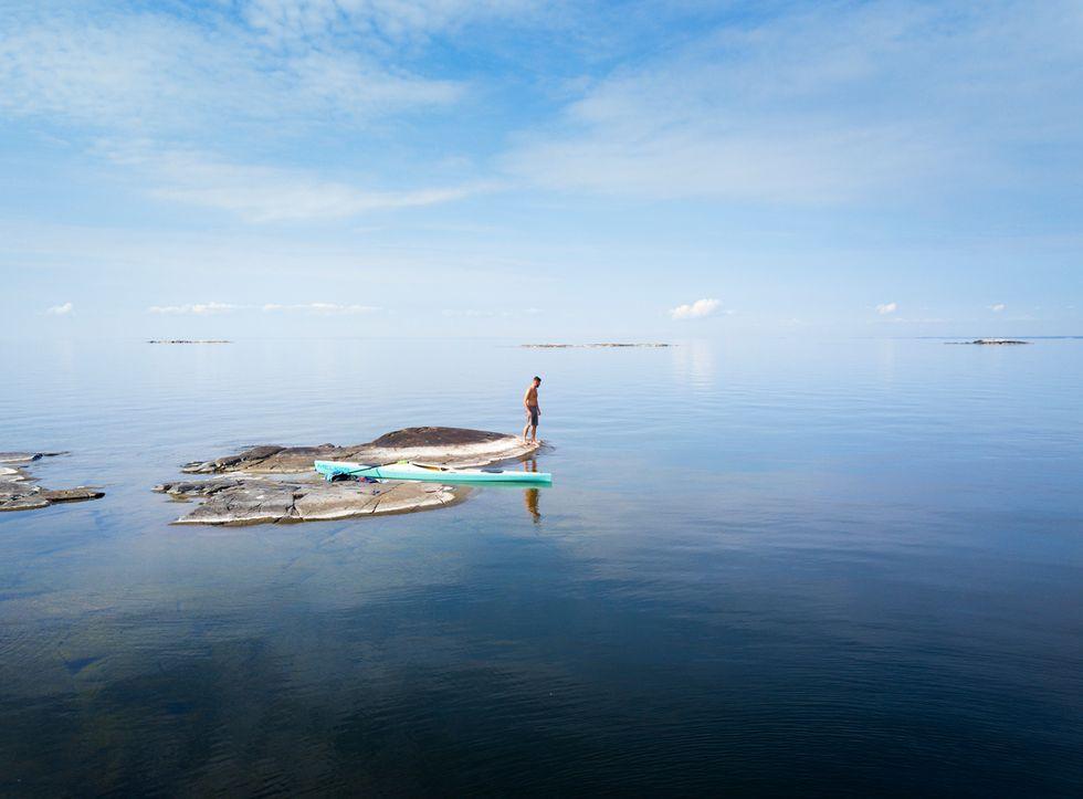 Lurö skärgård i Vänern – kajakpaddling bland hemliga öar