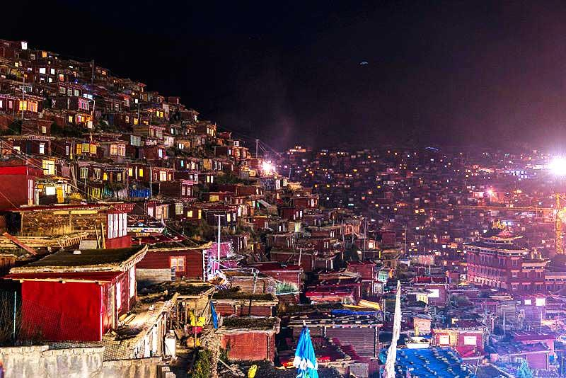 Dagens bild: Den buddistiska skolan i Tibet